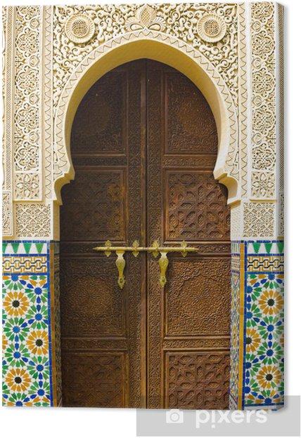 Canvas Marokkaanse architectuur - Thema's