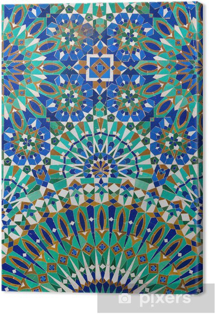 Canvas Marokkaanse inrichting - iStaging