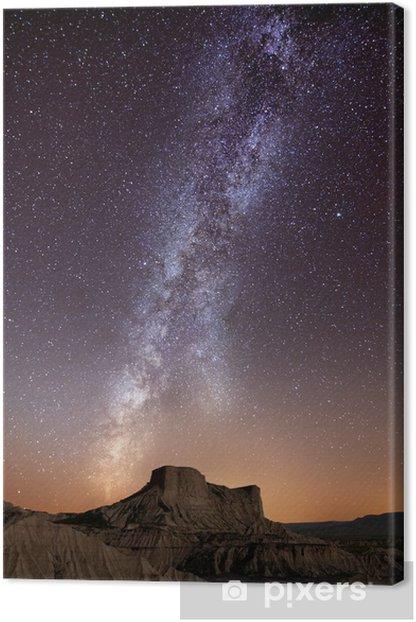 Canvas Melkweg over de woestijn - Thema's