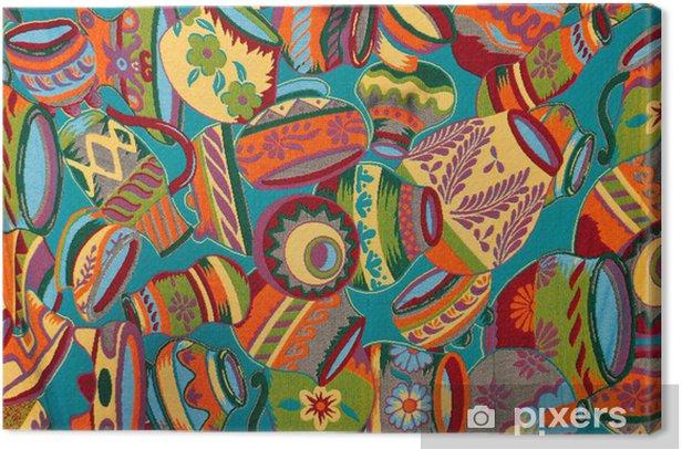 Canvas Mexicaanse deken - Amerika