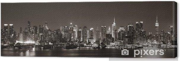 Canvas Midtown Manhattan Skyline -