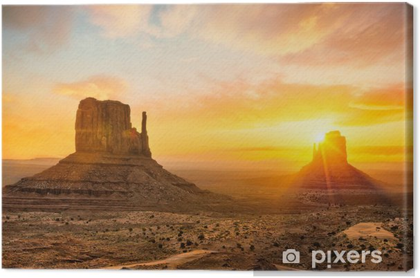 Canvas Monument Valley - Thema's