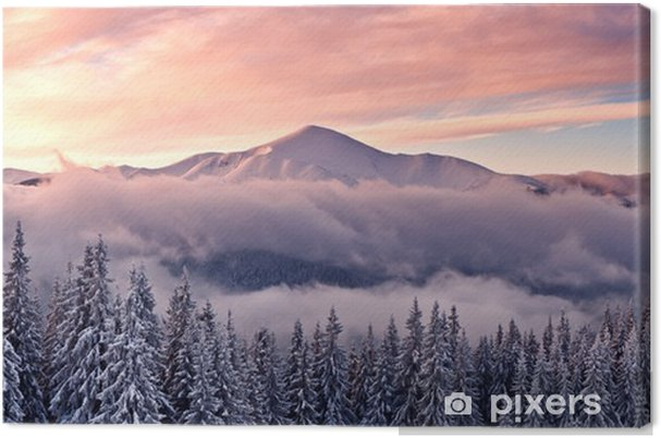 Canvas Mountain - Stijlen