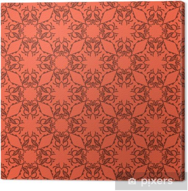Canvas Naadloze patroon - Achtergrond