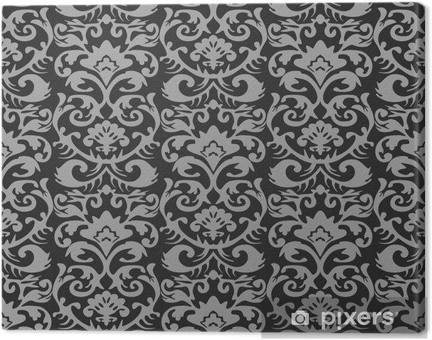 Behang Met Patroon : Canvas naadloze retro behang patroon u2022 pixers® we leven om te