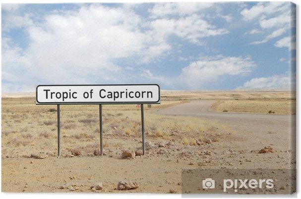 Canvas Namibia - Tropico del Capricorno - Woestijnen