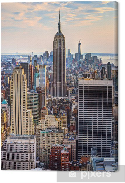 Canvas New York bij Schemer -