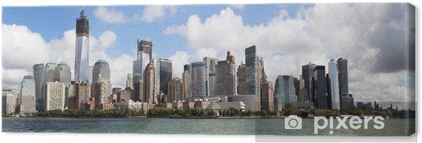 Canvas New York City Manhattan - Amerikaanse steden