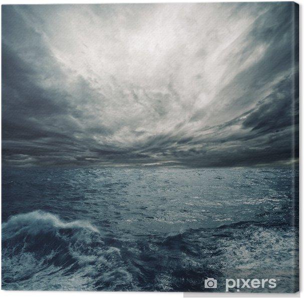 Canvas Ocean storm - Thema's