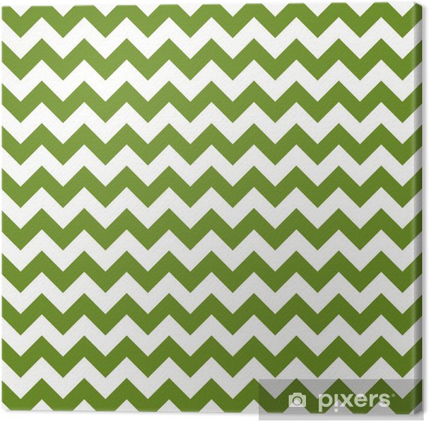 Canvas Olijf chevron naadloos patroon - Landbouw