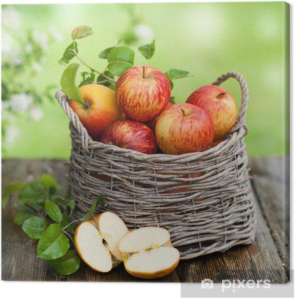 Canvas Oogsttijd - Appelbomen