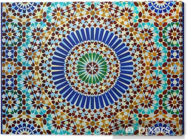 Canvas Oosterse decoratie - Marokko