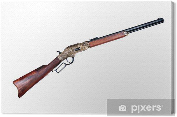 Canvas Oud geweer winchester - Texturen