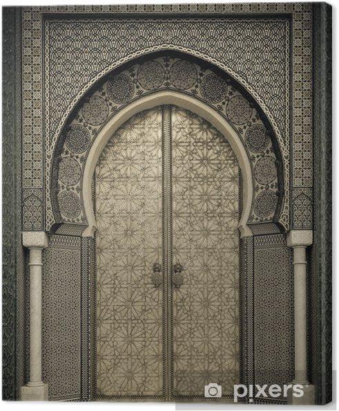 Canvas Oude deuren, Marokko - Thema's