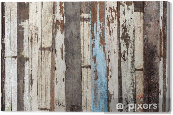 Houten Planken Aan De Muur.Canvas Oude Houten Plank Muur Achtergrond Textuur