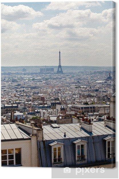Canvas Paris - Montmartre - Europese steden