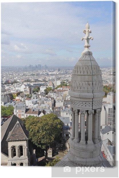Canvas Paris - Europese steden
