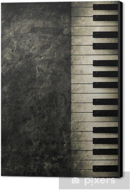 Canvas Piano -