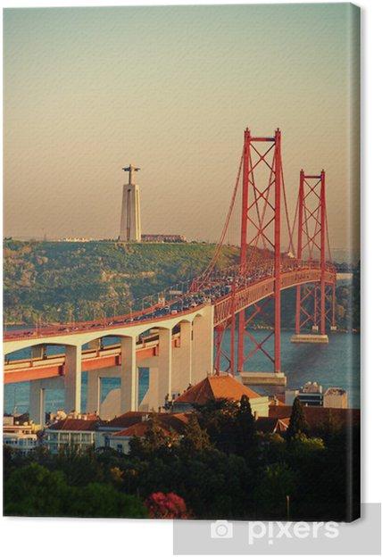 Canvas Ponte 25 Abril - Infrastructuur