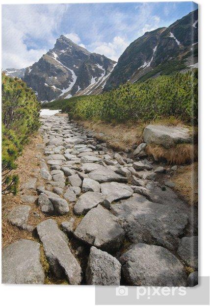 Canvas Poolse Tatra gebergte - Thema's