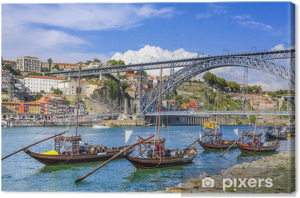 Canvas Porto, Portugal Cityscape - iStaging