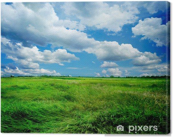 Canvas Prachtige natuur landschap - Thema's