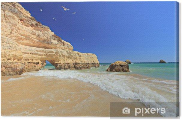 Canvas Praia da Rocha in Portimão, Algarve, Portugal - Thema's