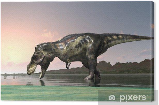 恐竜 Canvas Print - Themes