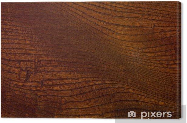 漆塗りのケヤキ板 Canvas Print - Textures