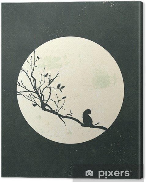달빛 Canvas Print - Landscapes