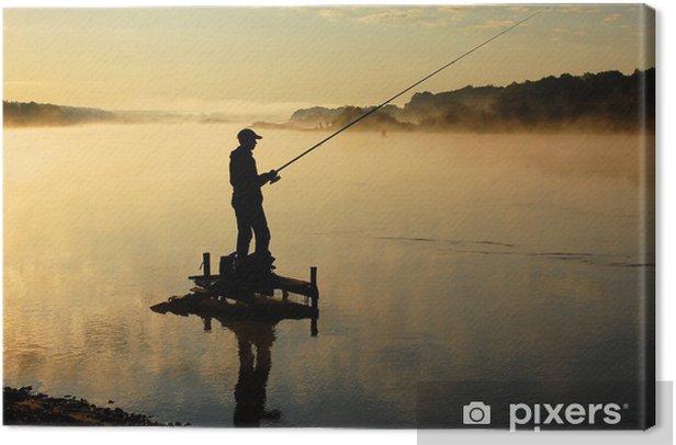 Рыбак Canvas Print - Outdoor Sports