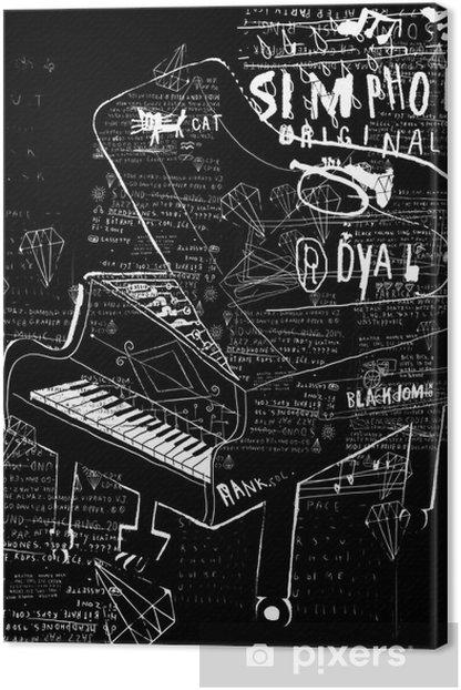 Пианино Canvas Print - Music