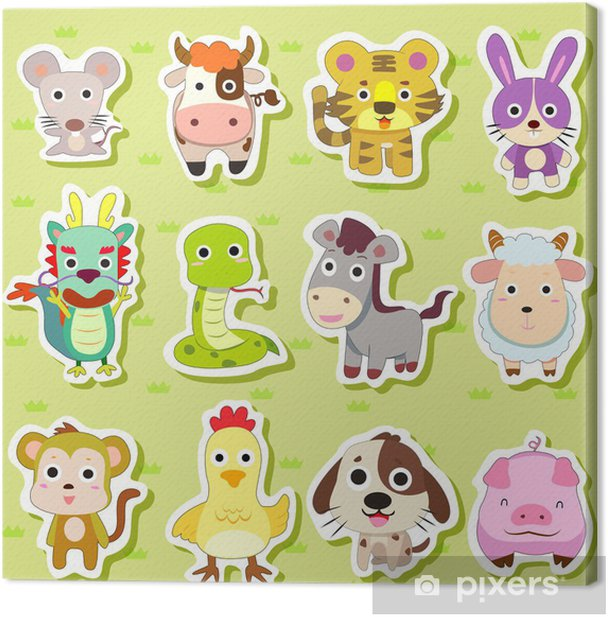 It is an image of Live Animal Stickers Printable pertaining to dryfur