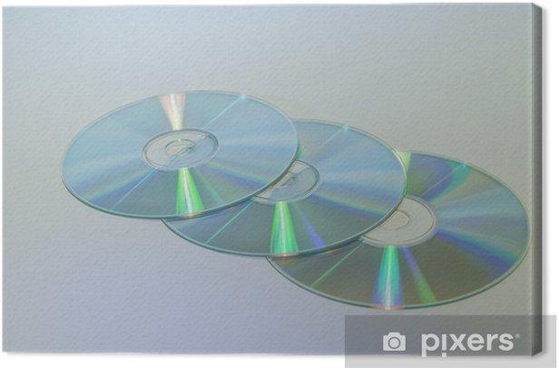 3CD Canvas Print - Electronic