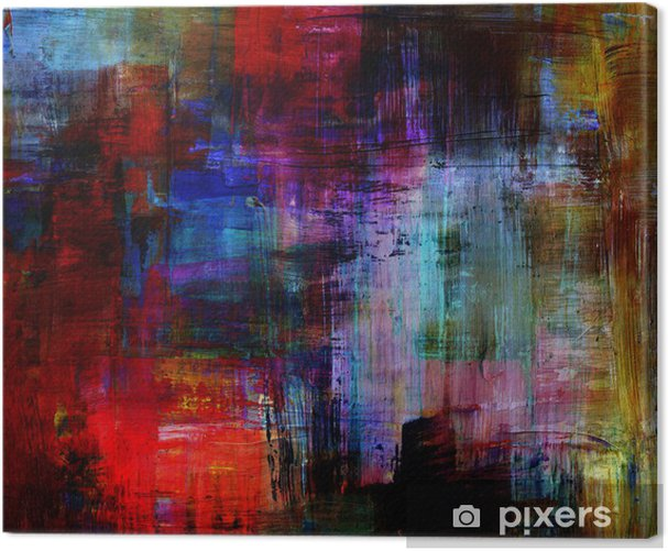 Abstract backgrounds Canvas Print - Art and Creation