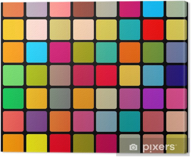 Abstract colorful background Canvas Print - Backgrounds