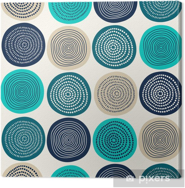 Abstract pattern Canvas Print - Styles