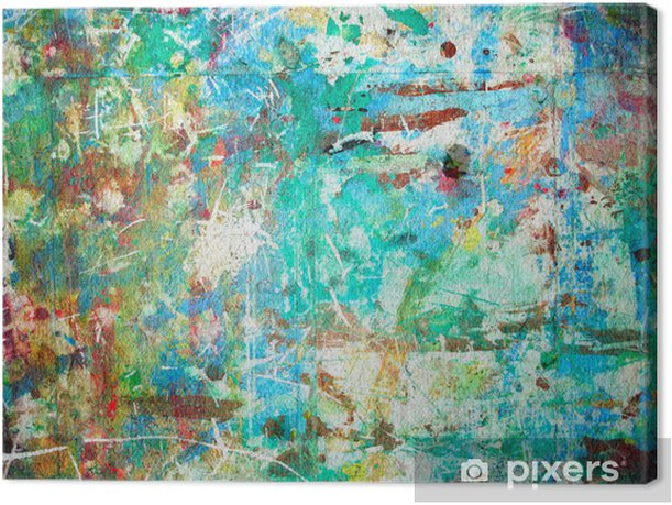 Abstract watercolor Canvas Print - Themes