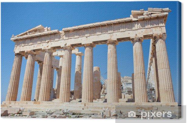 Acropoli - Partenone Canvas Print - Themes