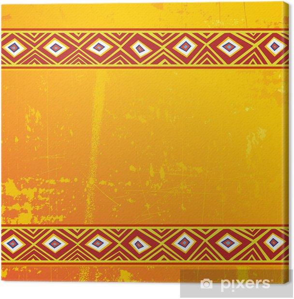 Africa Design Sfondo Tribal Ethnic Background Vector