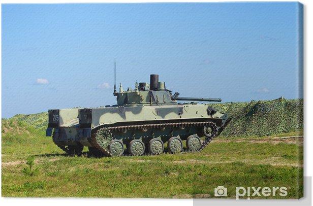 Airborne combat vehicle Canvas Print - Success and Achievement