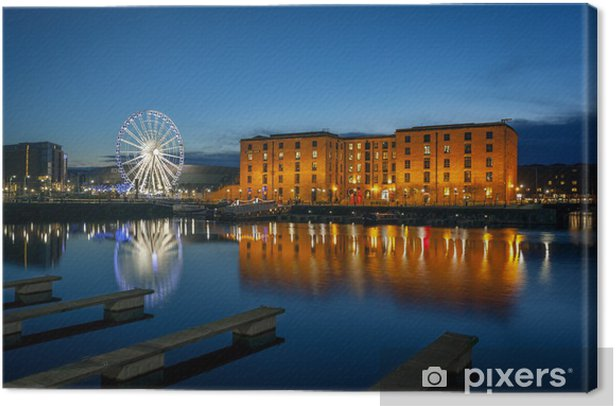 Albert dock, liverpool England Canvas Print - Europe