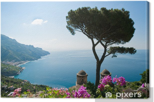 Amalfi coast view Canvas Print - Themes