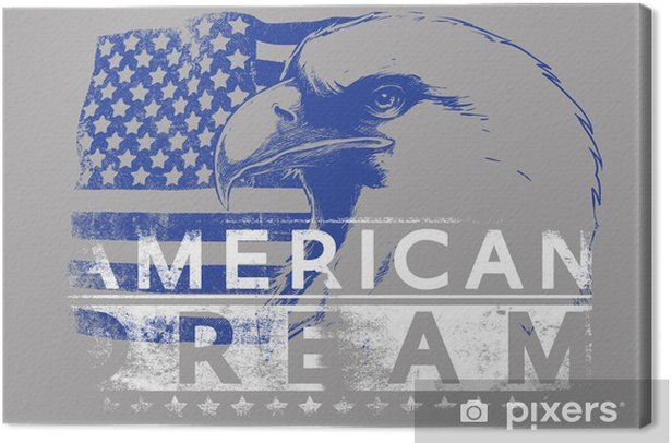 American dream Canvas Print - Signs and Symbols