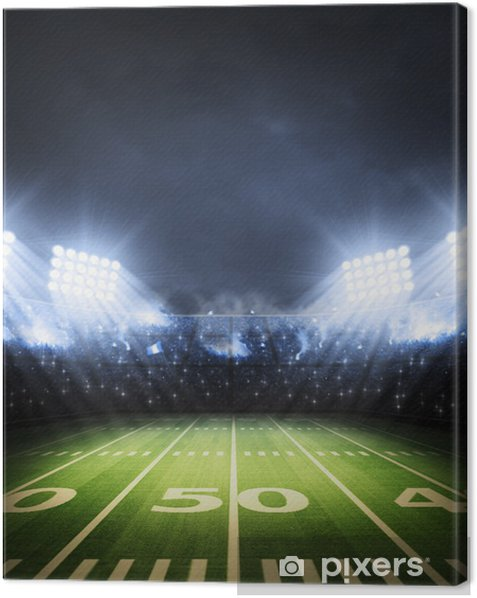American soccer stadium Canvas Print - American football