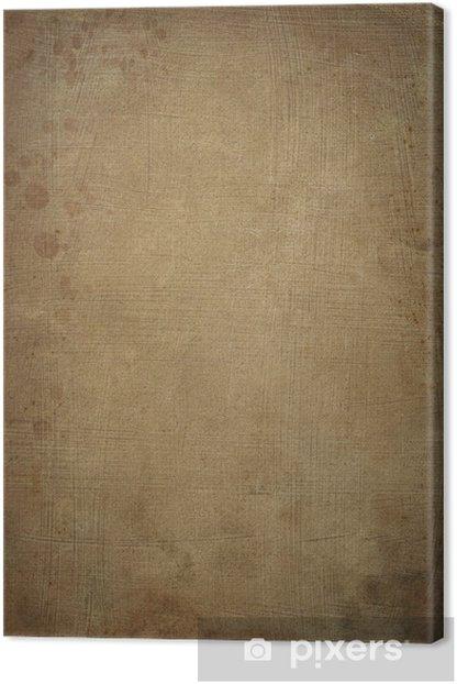 ancient papyrus background Canvas Print - Textures