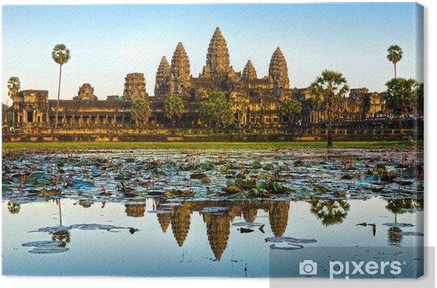 Angkor Wat, Siem reap, Cambodia. Canvas Print - Themes