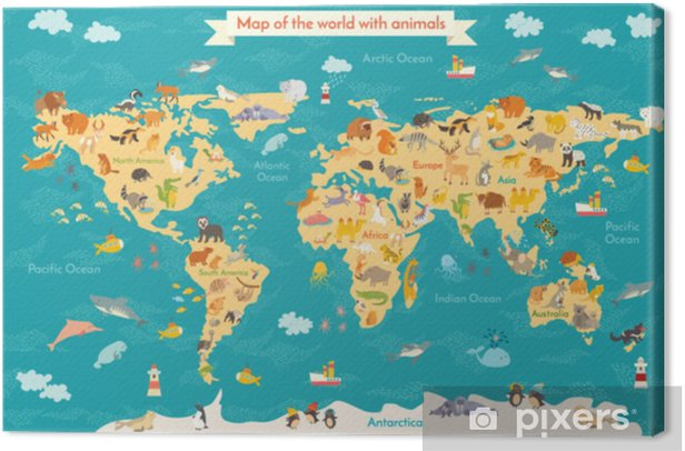 Animal map for kid. World vector poster for children, cute illustrated. on ecuador map in south america, people in south america, places in south america, home in south america, art in south america, colombia map in south america, world map west africa, travel in south america, france in south america, games in south america, blue in south america, japan in south america, germany in south america, world map cambodia and vietnam, world map central america, world map north america, egypt in south america, water in south america, turkey in south america, weather in south america,