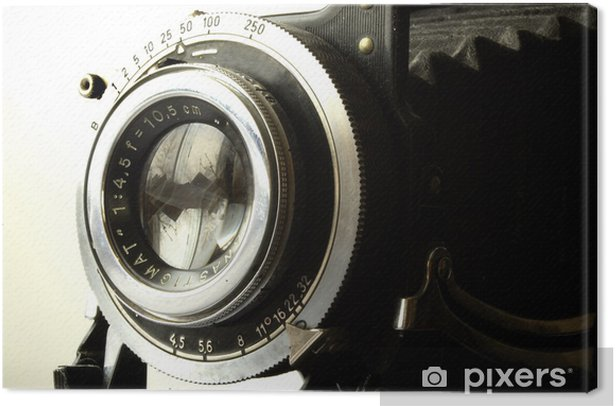 antique camera Canvas Print - Movies and TV series