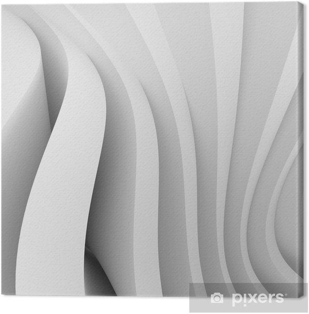 Architectural Design Canvas Print - Styles